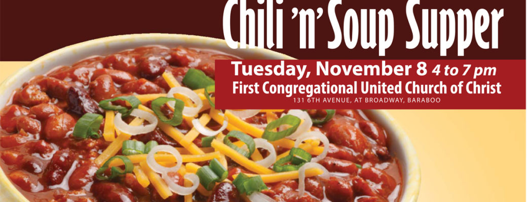 Election Day Chili & Soup Supper